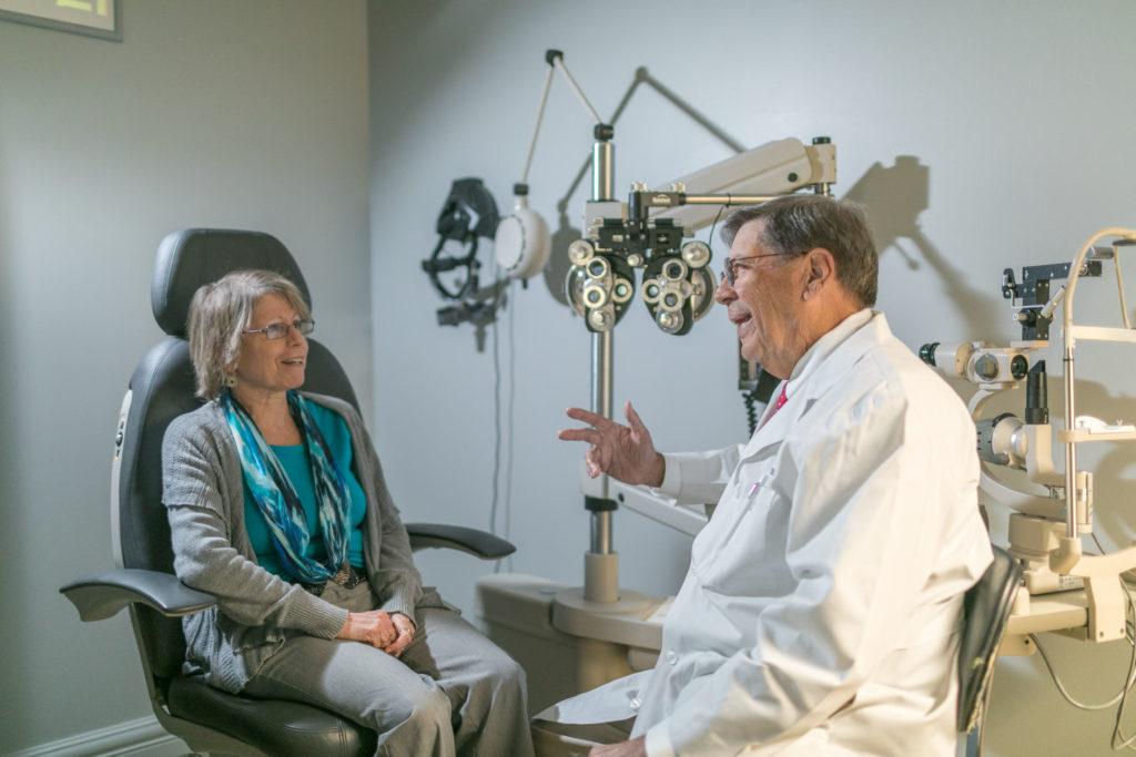 Eye Surgeon Dr. Fischer